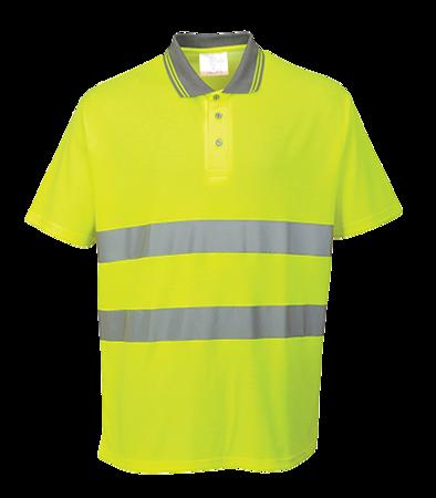 Koszulka robocza odblaskowa polo S171 Portwest
