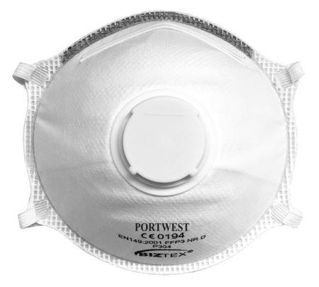 Półmaska FFP3 z zaworkiem P304 PORTWEST
