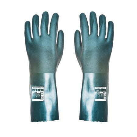 Rękawice robocze z PVC 35cm A835 Portwest